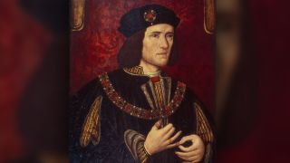 A portrait of Richard III, King of England from 1483 until his death in 1485.