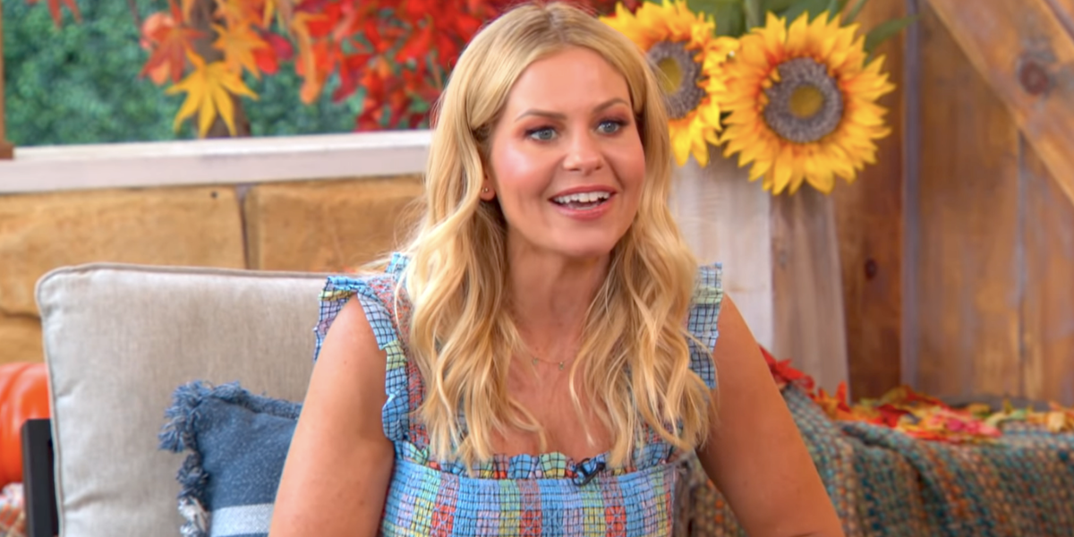 candace cameron bure home and family interview boobs 2020
