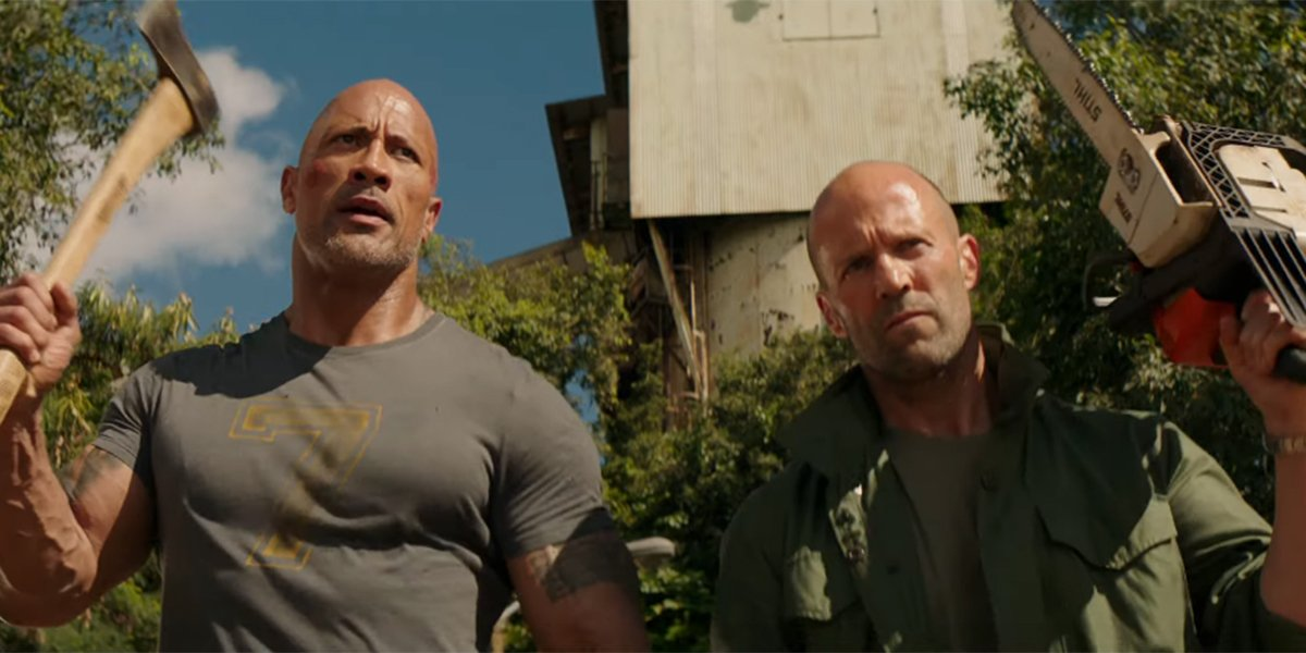 Hobbs and Shaw going old school