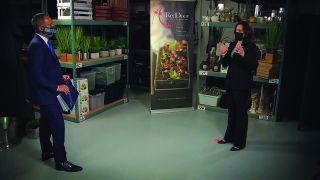 Raj Mathal interviews Kamala Harris on KNTV San Jose/San Francisco/Oakland