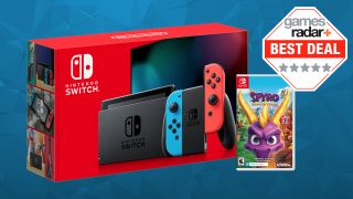 Cheap Nintendo Switch deal - grab the console for $299 and Spyro Reignited Trilogy for free