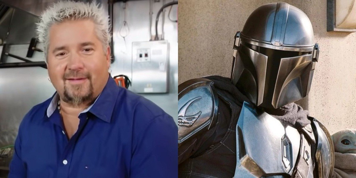 Guy Fieri Becomes The Mandalorian In Hilarious Custom Poster, And I Can't Unsee It