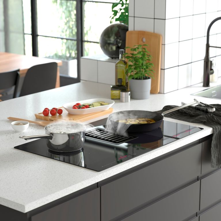 Ikea induction hob with extractor fan