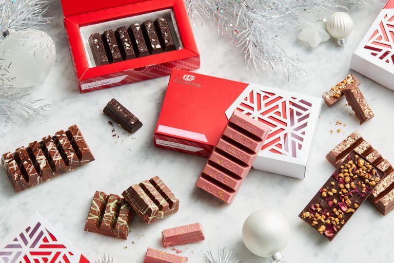 John Lewis & Partners Christmas KitKats 2019