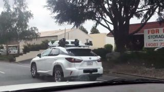 Apple self-driving car