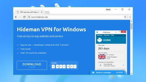 hideman vpn gratuit