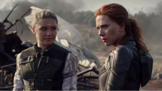 Black Widow Standbild von Scarlett Johansson