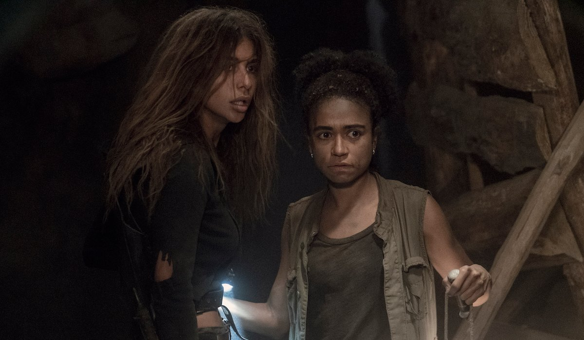 the walking dead magna and connie trapped in cave
