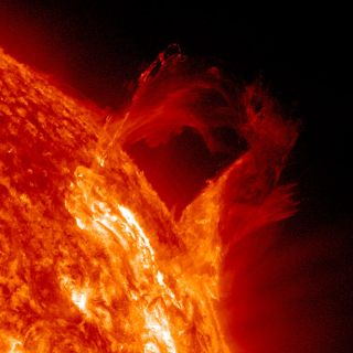Solar Prominence March 16, 2013