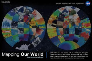 NASA Mapping Our World Interactive