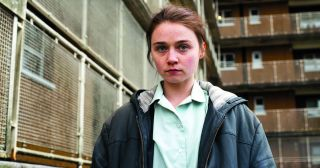 When we first meet 14-year-old Ellen (Penny Dreadful's Jessica Barden, in a mesmerising performance), she's swearing, smoking and swaggering about like she owns the place.