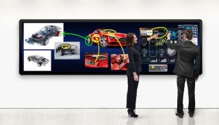 Leyard and Planar Launch LED Touch-Enabled Video Wall