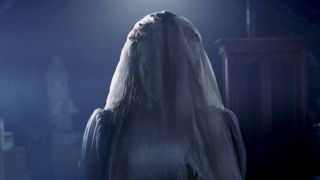 Marisol Ramirez as the ghostly La Llorona in The Curse of La Llorona