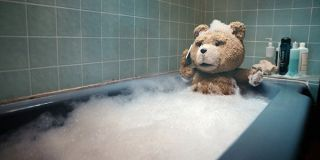 Ted in the bathtub