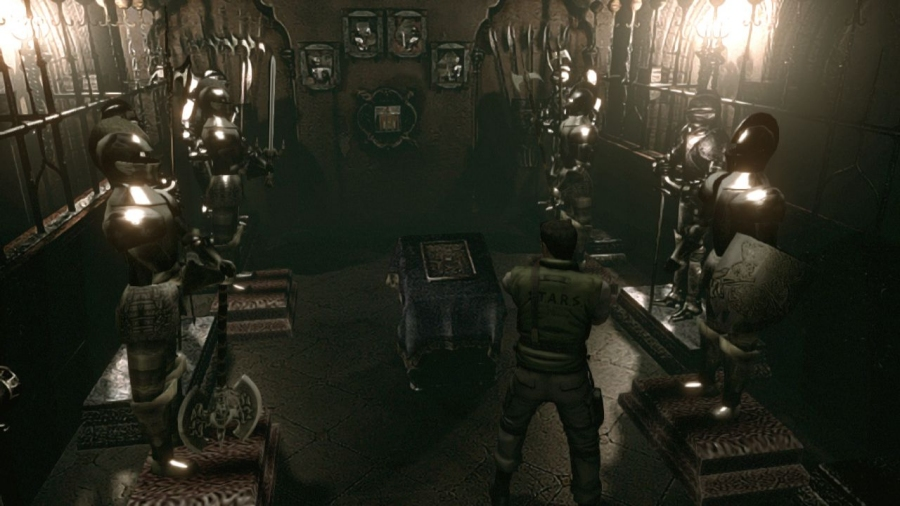 Resident Evil HD Remake Screenshot Comparison - CINEMABLEND