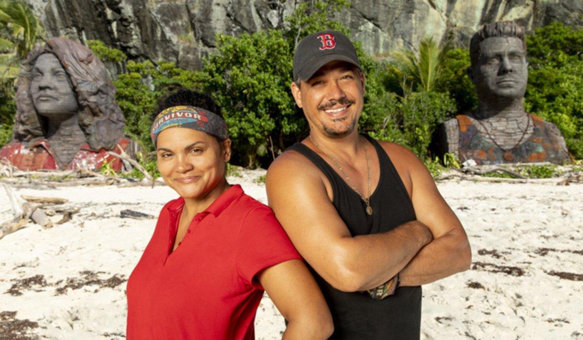 Boston Rob Mariano and Sandra Diaz-Twine survivor island of the idols cbs