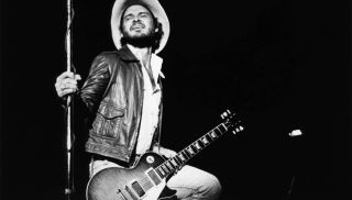 Billy Gibbons performs with ZZ Top in 1975