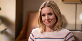Kristen Bell Asks Us Not To Get Judgy After She Caught Her Daughters Drinking Non-Alcoholic Beer During School Call