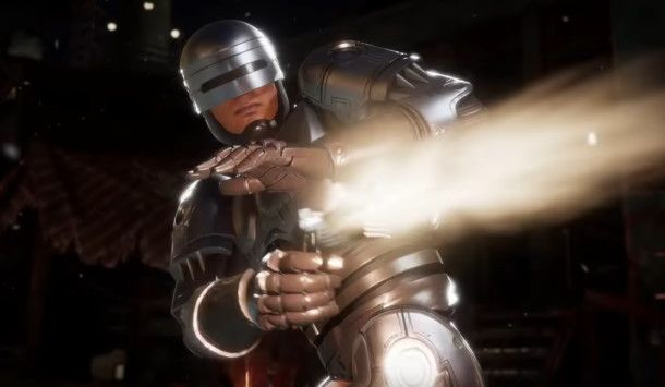 Robocop's Mortal Kombat 11 fatality pays tribute to a great shot from the film