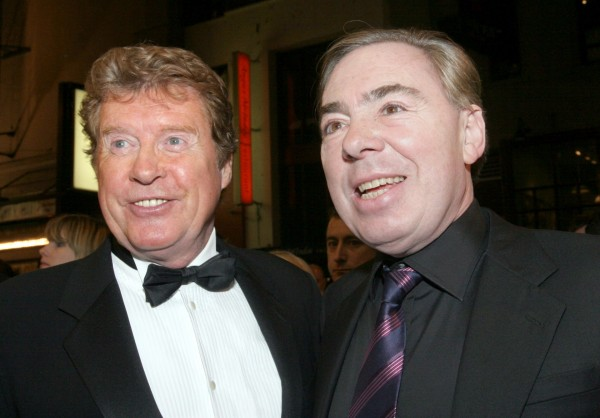 Michael Crawford and Sir Andrew Lloyd-Webber (TINA FINEBERG/AP)