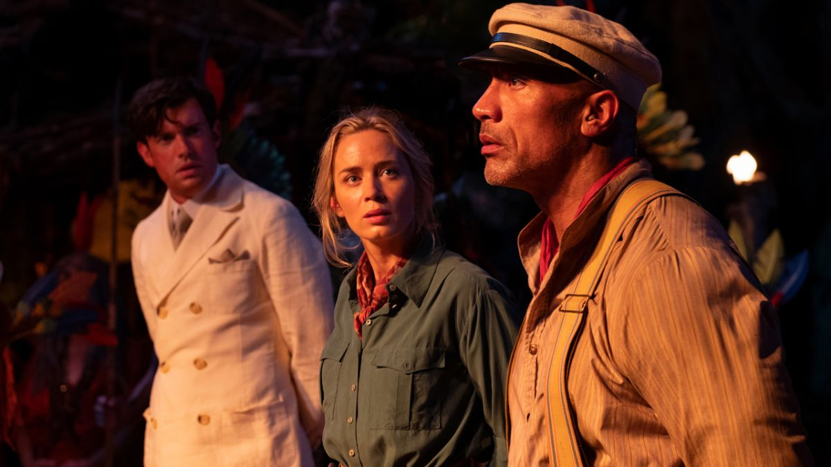 Go behind the scenes of Jungle Cruise with Dwayne Johnson and Emily Blunt in these exclusive images