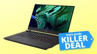 Gigabyte AERO 15 OLED gaming laptop