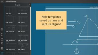 Nureva has added 13 agile-themed templates to Span Workspace, the company's expansive cloud-based digital canvas for visual planning and team collaboration.
