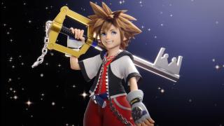 Screenshot of Sora from Super Smash Bros. Ultimate trailer.