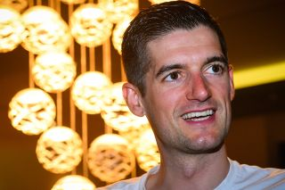 Wout Poels at the Bahrain McLaren training camp