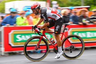 Lotto Soudal's Thomas De Gendt in action at the 2020 Tour Down Under precursor, the Schwalbe Classic