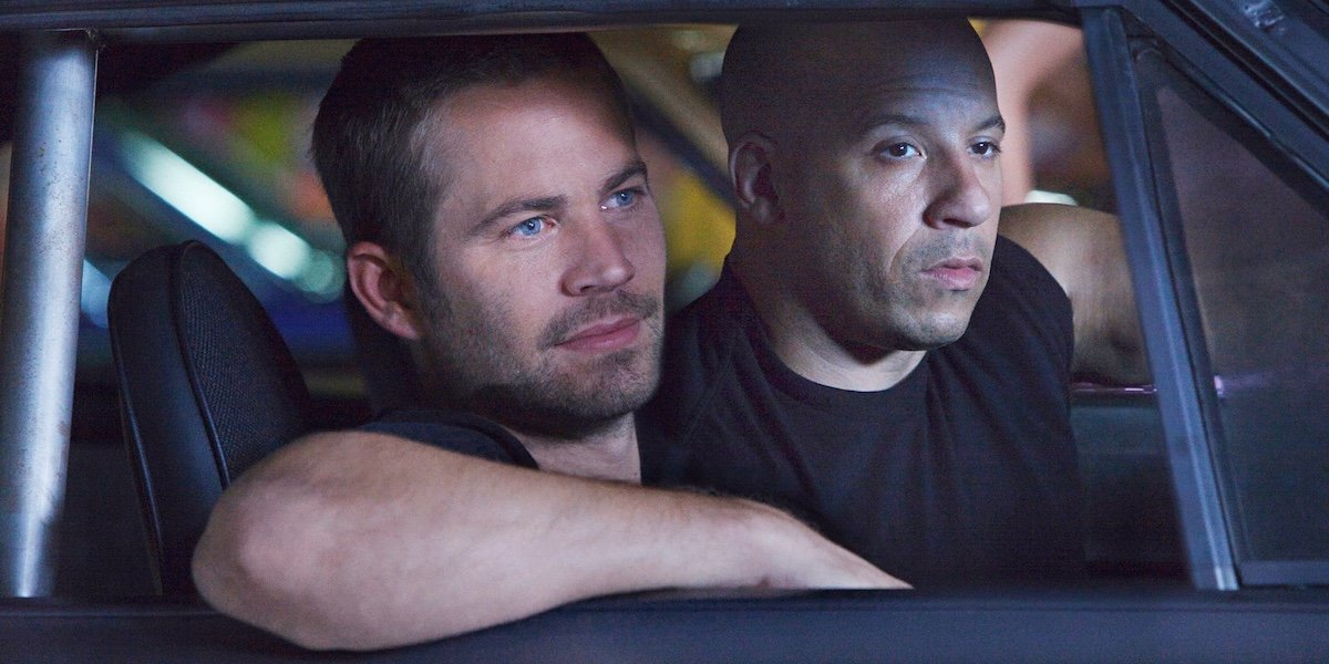 Vin Diesel and Paul Walker in Fast & Furious franchise