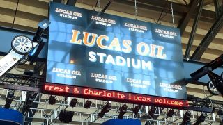 Indianapolis' Lucas Oil Stadium features innovative digital signage delivered via an Atlona AV over IP system