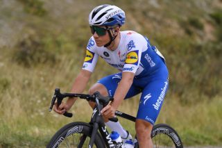Remco Evenepoel made several attacks during stage 1 of the Vuelta a Burgos