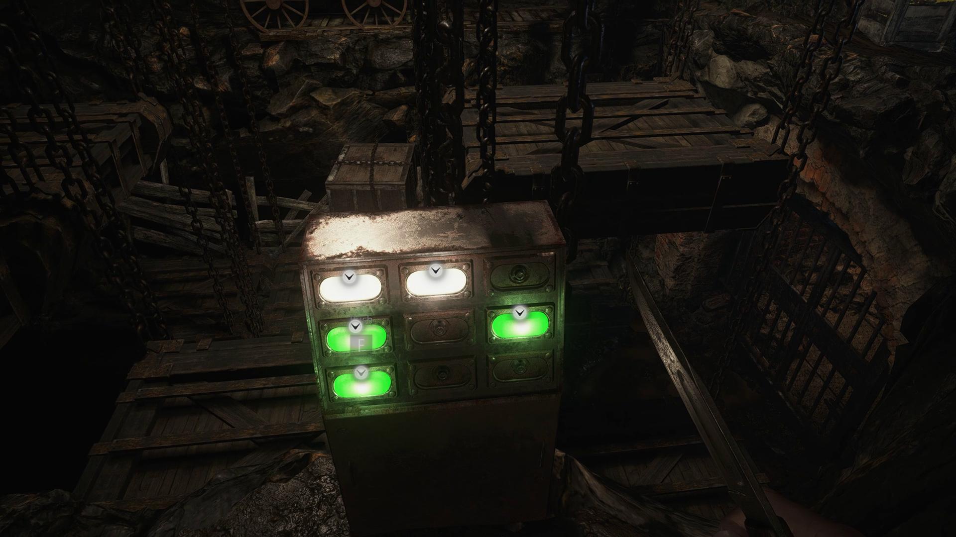 Resident Evil Village wells