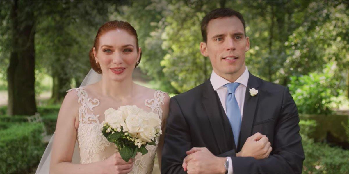Love Wedding Repeat Sam Claflin and Eleanor Tomlinson
