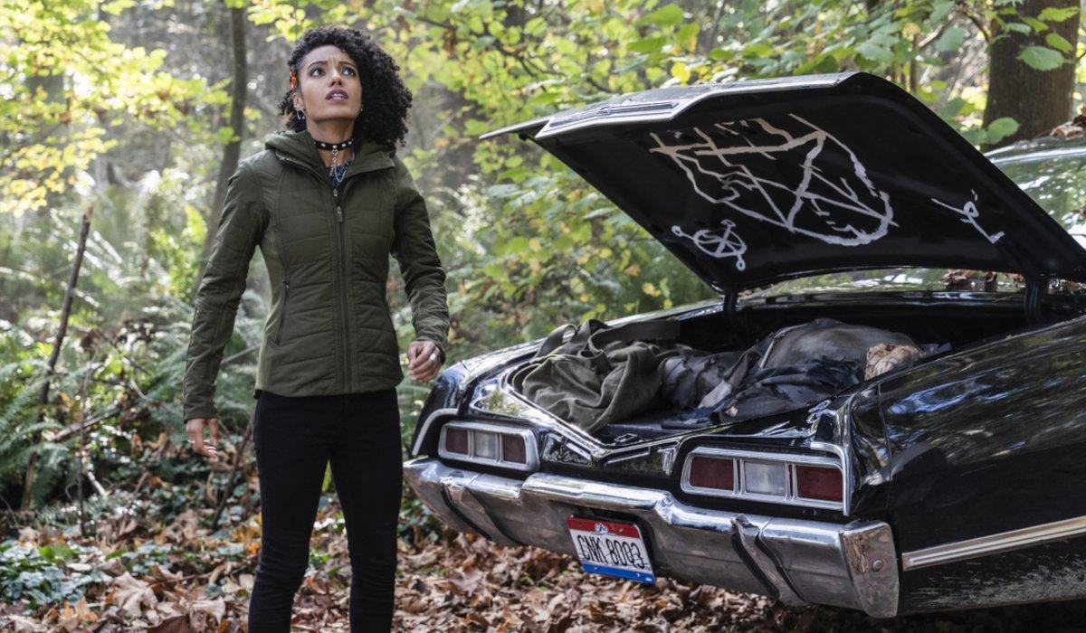 legends of tomorrow season 5 charlie the cw supernatural impala