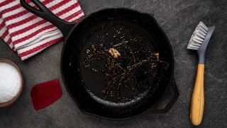 Dirty Cast Iron Skillet