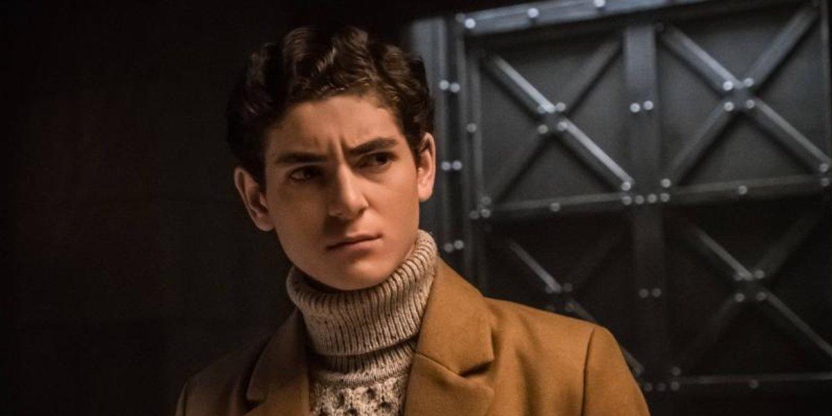 David Mazouz on Gotham