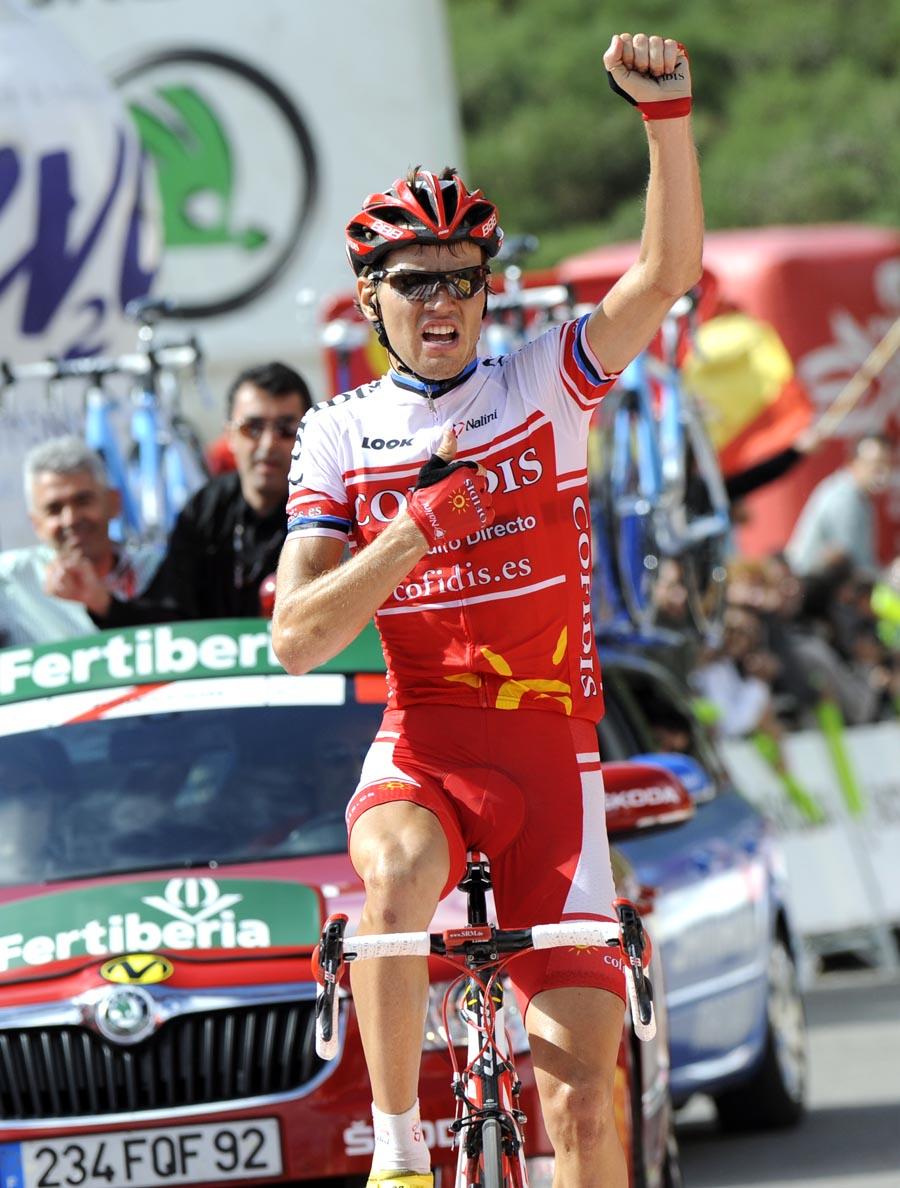 Rein Taaramae wins, Vuelta a Espana 2011, stage 14