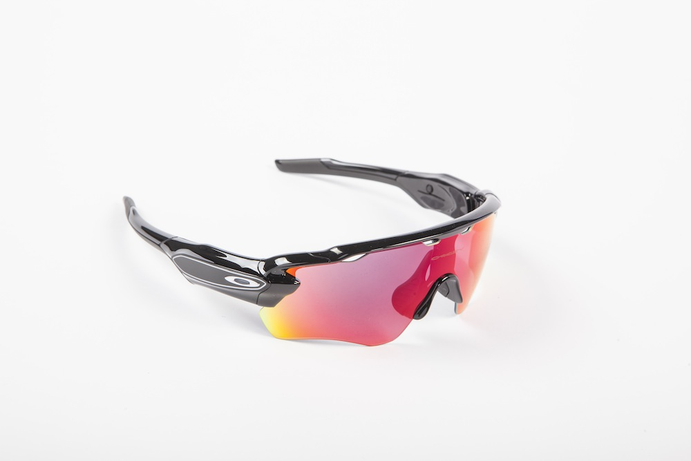 06c3e52f4b Oakley Radar Pace without the ear booms. The Road Prizm Lens is superb.