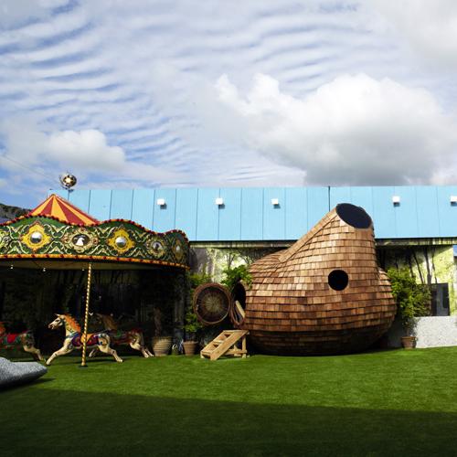 Final Big Brother house has 'circus' theme
