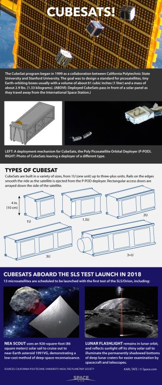 Facts about CubeSats.