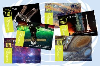 united nations unispace 50 stamps
