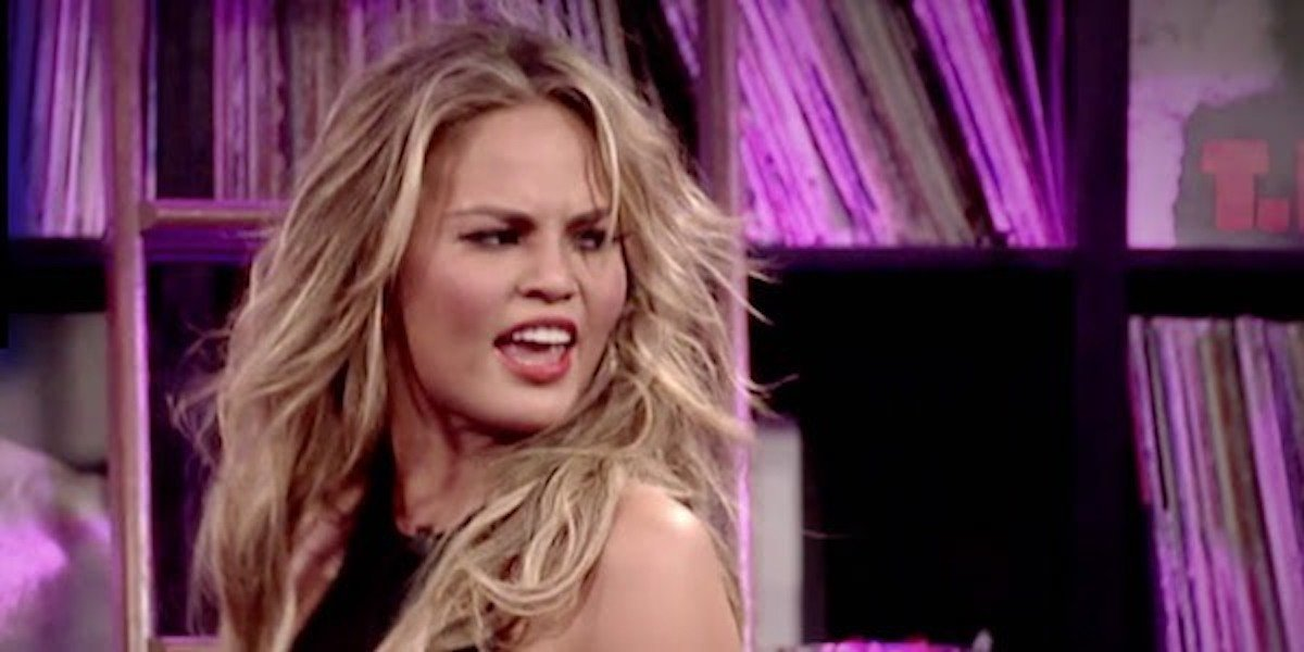 Chrissy Teigen's New Years Resolution Will Change How She Does Social Media