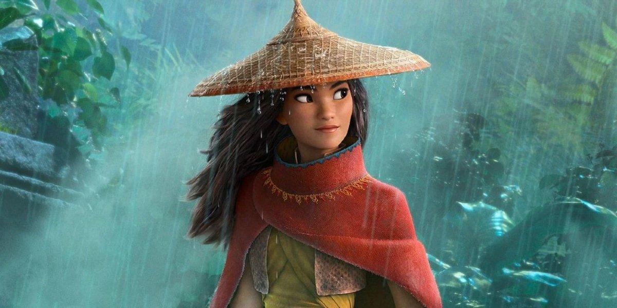Raya (Kelly Marie Tran) in Raya and the Last Dragon