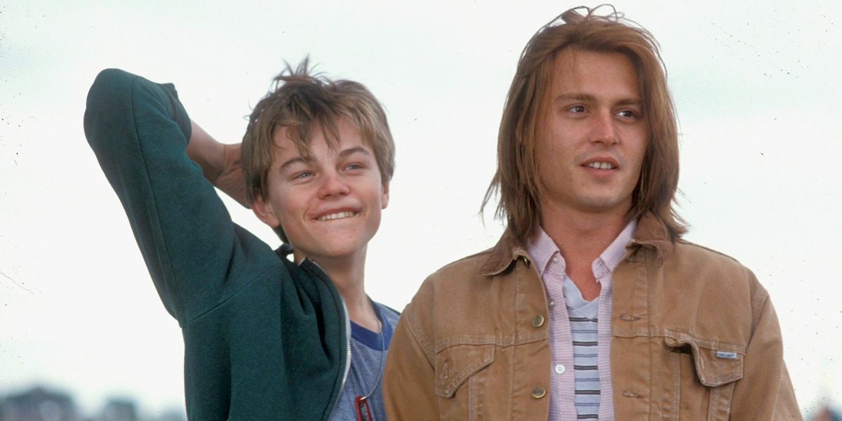 Leonardo DiCaprio and Johnny Depp in What's Eating Gilbert Grape?