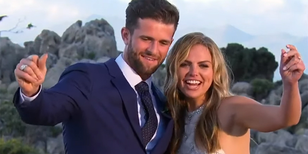 Bachelorette 2019 Hannah and Jed dance after getting engaged in Season 15 finale ABC