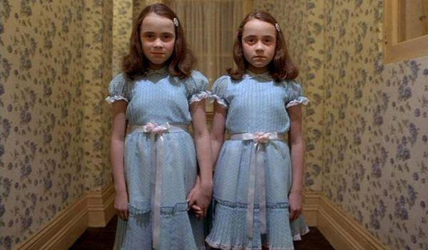 Creepy twins in The Shining