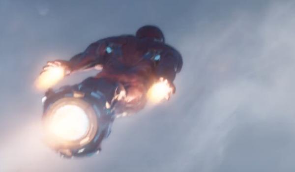 Iron Man's upgrade