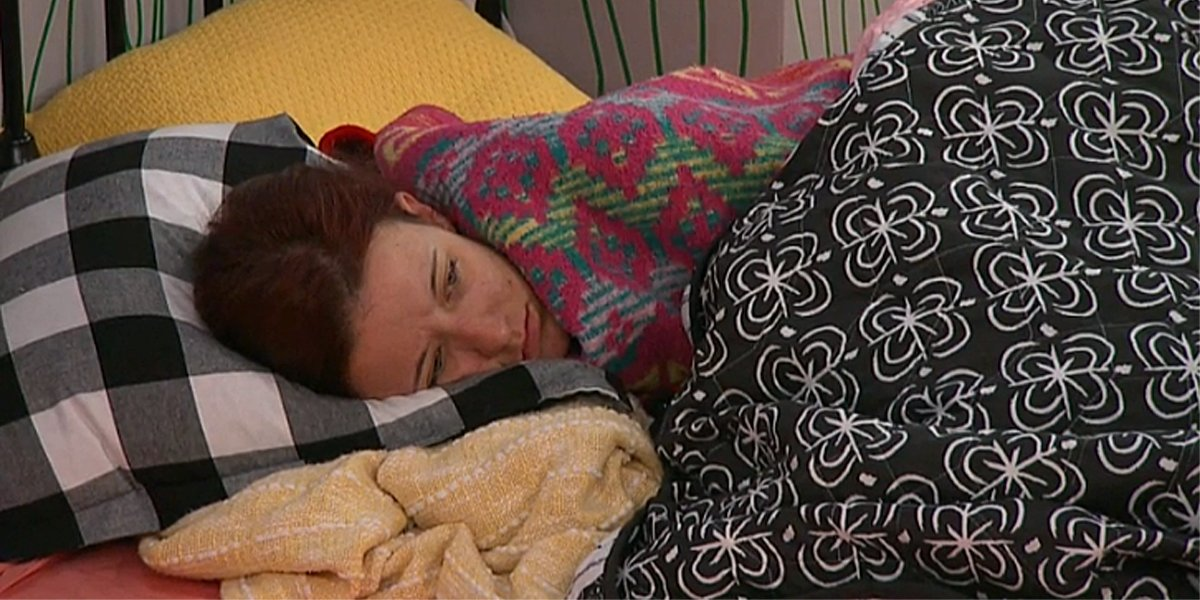 Big Brother 21 sad Nicole on live feeds CBS